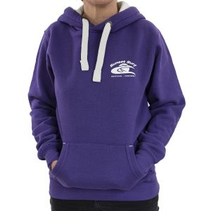 Sunset Surf Adult Hoodie Purple