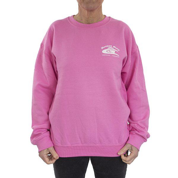 Sunset Surf Sweatshirt Azalea