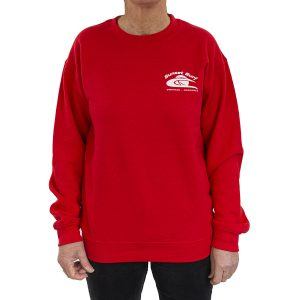 Sunset Surf Adult Sweatshirt Red